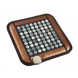 Нефритовый коврик (450х450мм) с подогревом Health & Relax PR-C06B (шестигранные камни)
