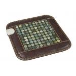 Нефритовый коврик (450х450мм) с подогревом Health & Relax PR-C06B (круглые камни)