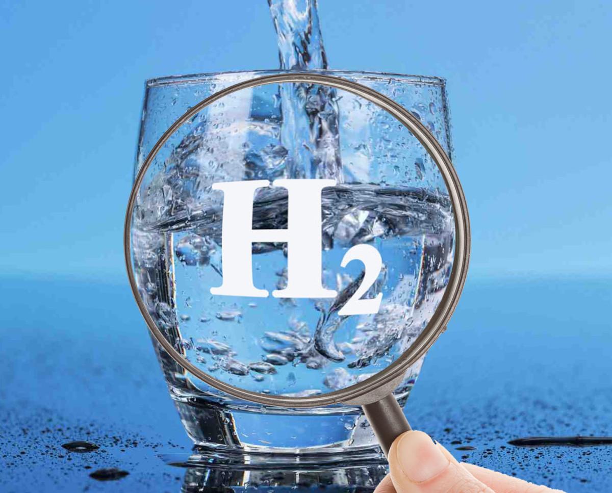 h2 в стакане фото